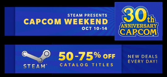 steam-capcom-weekend