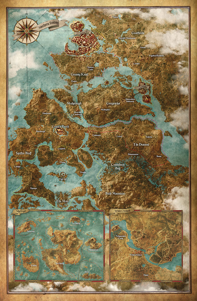 witcher3 map
